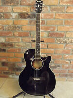 IBANEZ ACOUSTIC ELECTRIC GUITAR  WITH AMP