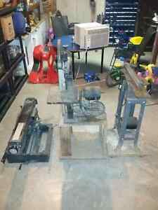 BAND SAW , JOINTER AND RADIAL ARM SAW FOR SALE