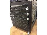 Dell Rack Servers with transportable rack