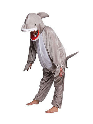 Shark Costume Jaws Girls Boys World Book Day Week Sea Fancy Dress Childs Outfit