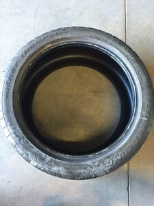 One Mickey Thompson Street Comp tire