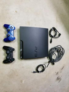 Sony PS3, 2-controllers and 7-games