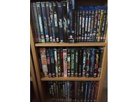85 WWE Wrestling DVDs and Blu Rays.