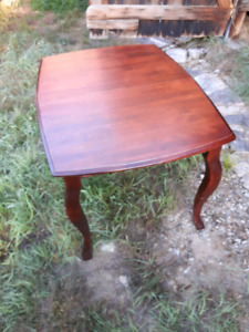 Solid maple tables and chairs