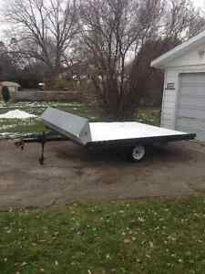 Snowmobile, Atv, Utility, Tilt Trailer