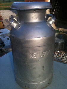 Vintage Neilsons Milk Can