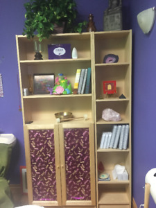 Wood Shelving Units -Office,Spa,Home