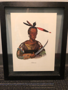 Set of 10 Indian Chief portraits