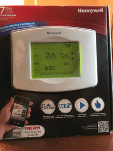 Honeywell Wifi Smart Thermostat  control heat from anywhere  $95