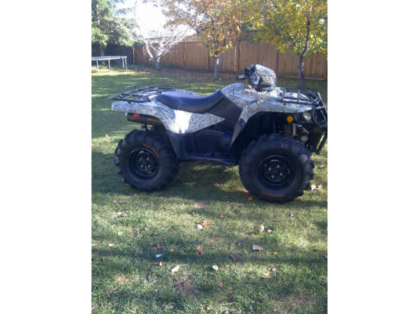 Used 2007 Suzuki King Quad