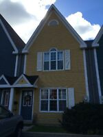 Furnished, fully equipped townhouse in downtown Fredericton