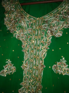 Pakistani fancy suit for weddings and parties - party wear