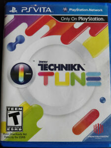 DJ Technika Max Tune - PS Vita Game