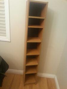book-dvd tower 7 shelves