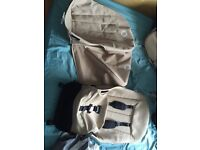 Bugaboo pushchair fabric: hood,seat&seat protector,basket