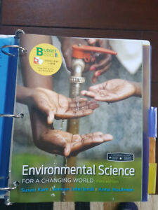 Environmental Science Textbook (ENVS 1100)