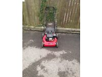 Self drive power devil lawnmower for sale