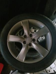 4 Mags & pneus étés Subaru