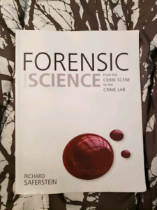 Forensic Science From the crime scene to the crime lab 3rd ed