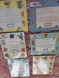 6 childrens books by Jane Hissey