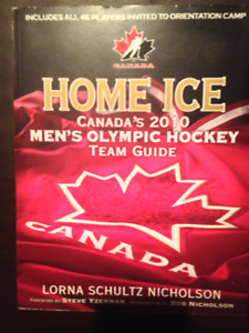 Home Ice: 2010 Men's Hockey Team Roster Book