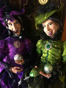 Customized Collectible Witch Sister Magical Art Dolls