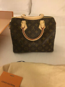 AUTHENTIC LOUIS VUITTON SPEEDY 25 - BRAND NEW - WITH RECEIPT