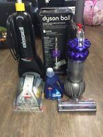 Dyson dc51 - Bissel vacuum carpet cleaner