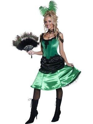 Damen Größe S Wildwest Kleid Tänzerin Gebraucht (Wild West Saloon Girl)