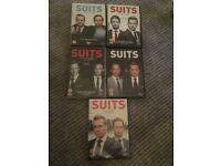 Suits DVDs
