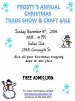 Frosty's Annual Christmas Trade Show and Craft Sale