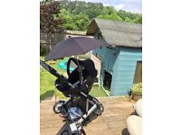 Mamas & Papas Travel System & Isofix Base