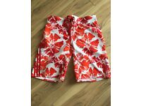 Adidas swim shorts rrp £30 size m