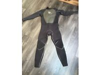 Rip curl F-bomb steamer wetsuit 5/4mm