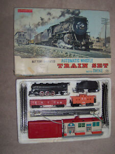Vintage Made In Japan , Battery Operated Train Set