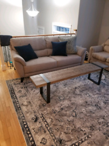 Brand new sofa with warranty protection package