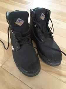 Mens Workload Safety steel toe shoes size 8