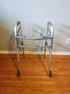 Folding Two-Wheel Walker