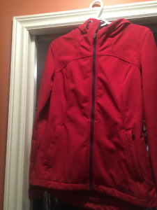 Ladies Bench Shell Jacket, Size Small