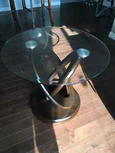 Beautiful Brown Cherry End Table