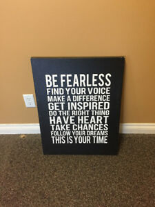 Picture- Be Fearless