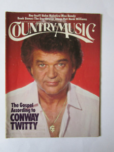 COUNTRY MUSIC. CONWAY TWITTY ( voir infos & photos).