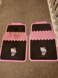Hello Kitty car mats