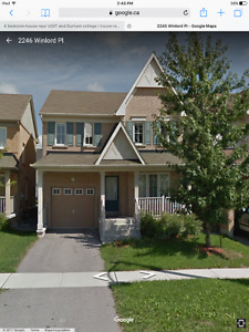 4 bedroom house near UOIT and Durham college