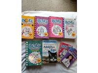 Selection of girls books aged 9 years +