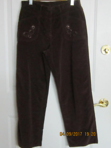 Tradition Country Collection Corduroy Pants Like New $5.00