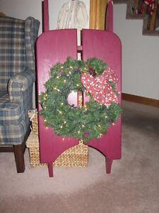 Decorative Christmas Sleigh