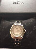 Brand new never worn Bulova  precisionist diamond watch