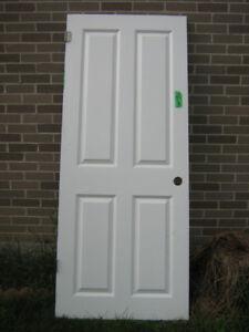 Interior door 6 panel  31 3/4 X 77 1/4
