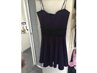 B/new plus size purple dress